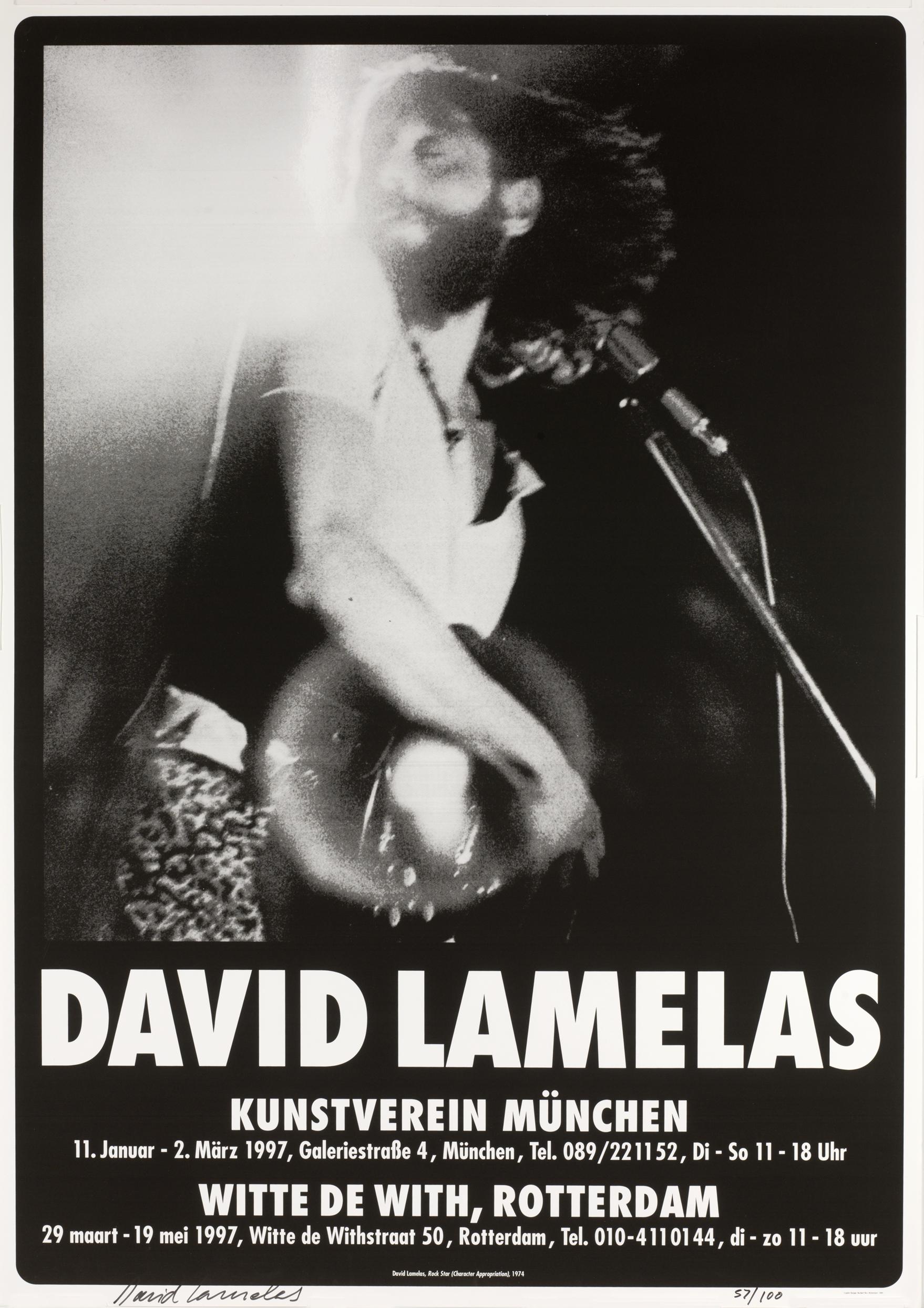 David Lamelas Rockstar