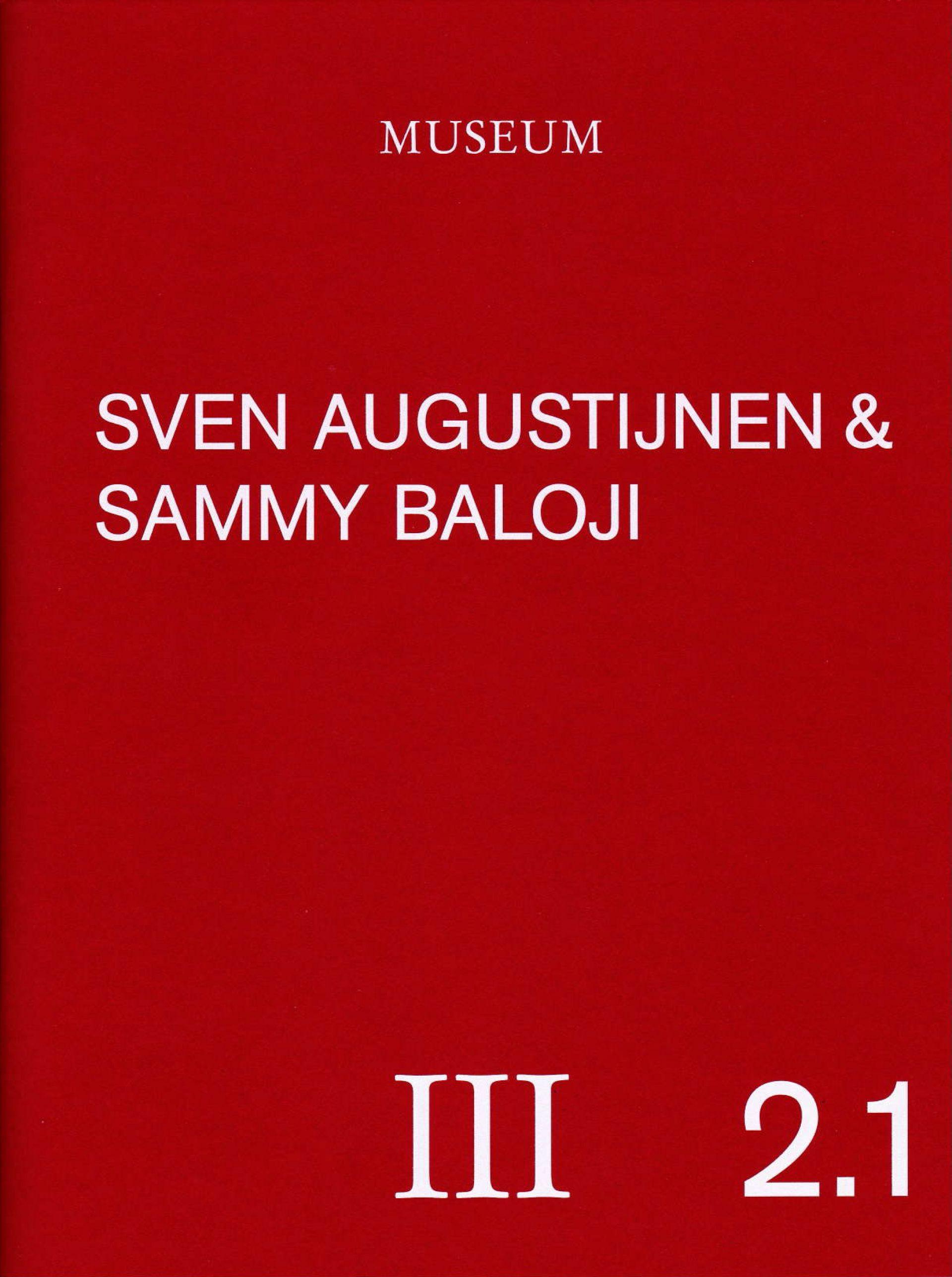 Sven Augustijnen, catalogue