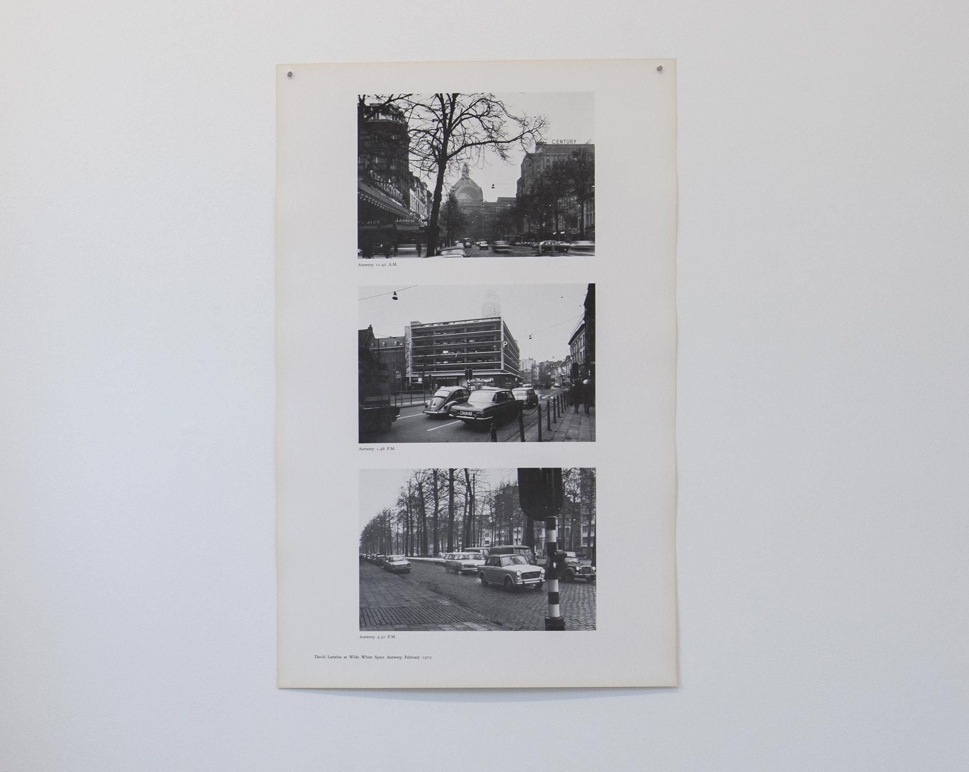 David Lamelas Antwerp